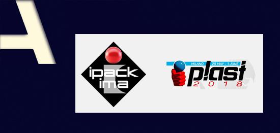 Ipack-Ima e Plast a Milano dal 29 maggio all'1 giugno 2018