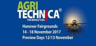Agritechnica ad Hannover dal 12 al 18 novembre 2017