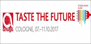 Anuga a Colonia dal 7 all'11 ottobre 2017