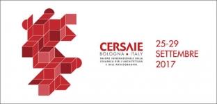 Cersaie a Bologna dal 25 al 29 settembre 2017