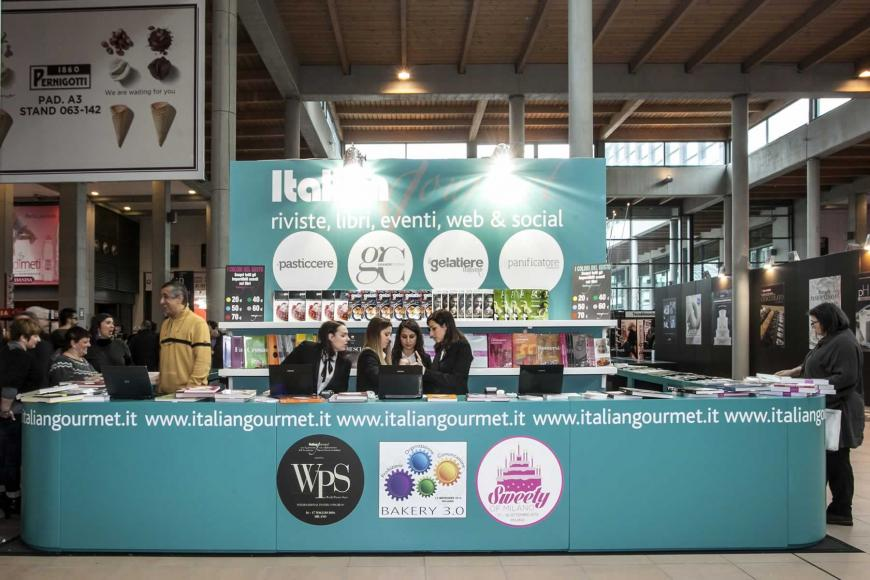 Allestimento stand Rimini Sigep DB Information