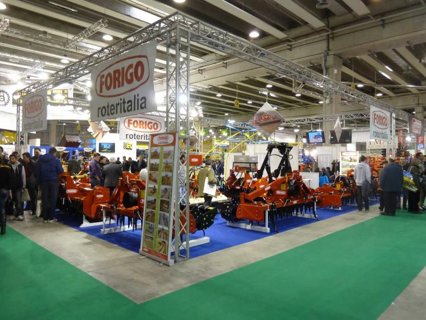 Allestimento stand Verona Agricola Chimiberg