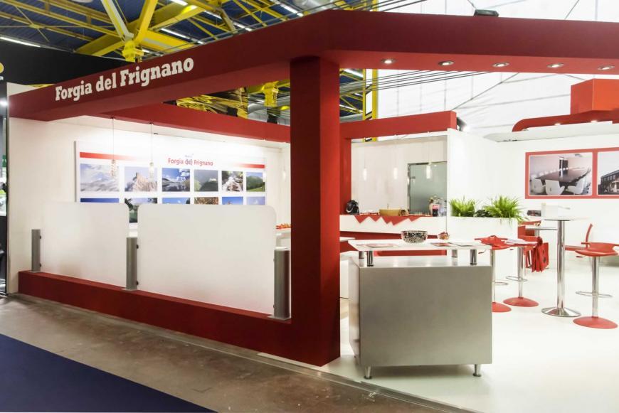 Allestimento stand Bologna Eima Forgia Del Frignano