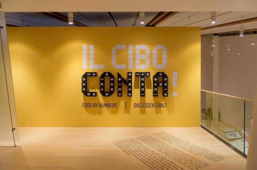 Allestimento stand Bologna Museo della Scienza