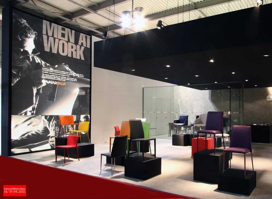 Allestimento stand Milano Salone del mobile Avatar