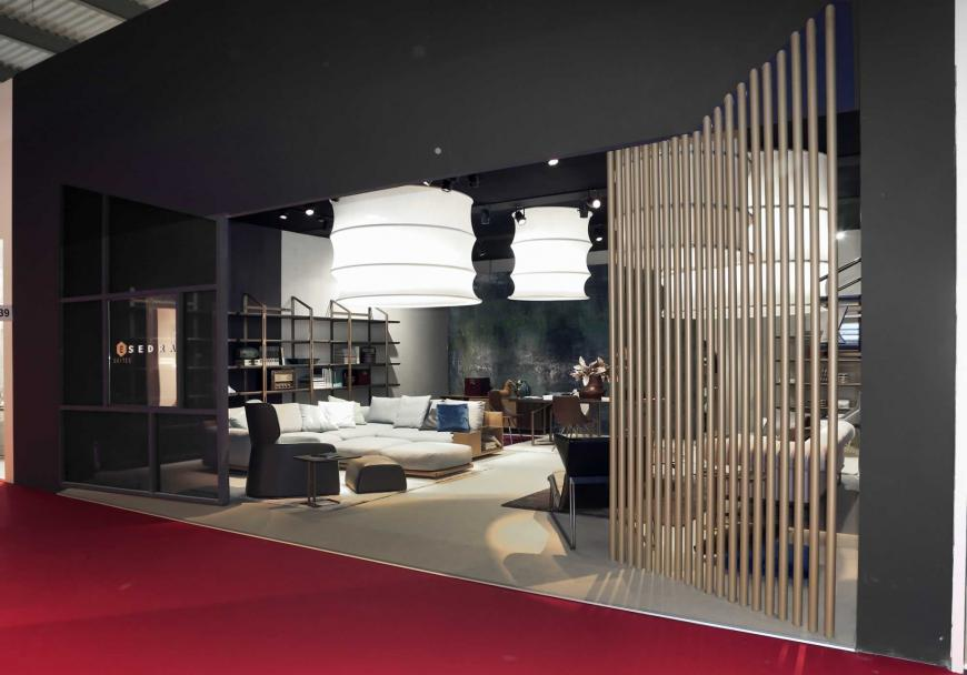 Allestimento stand Milano Salone del mobile Prospettive