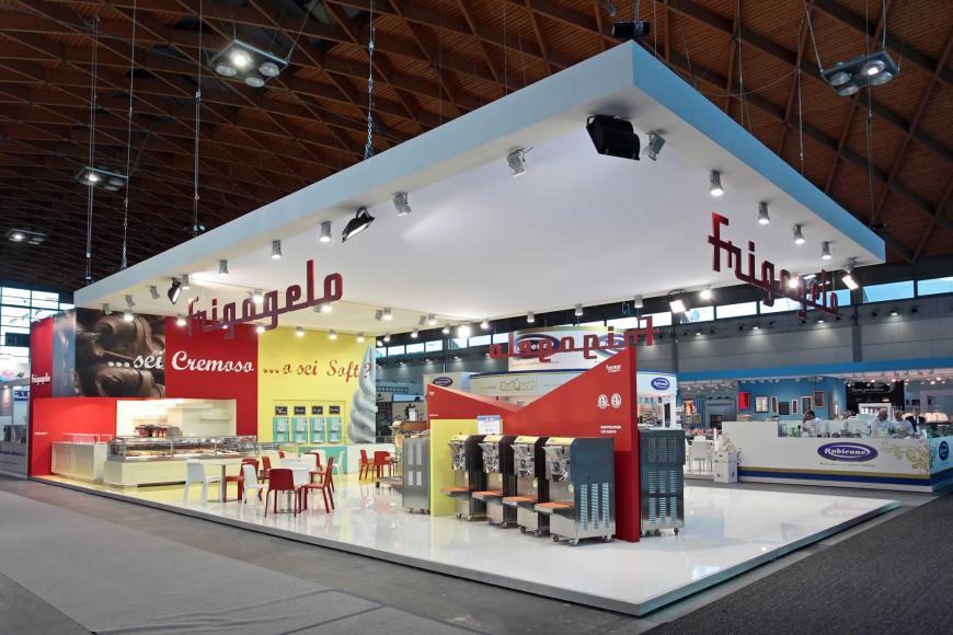 Allestimento stand Rimini Sigep Frigogelo