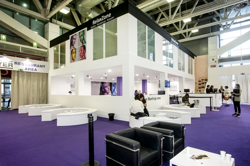 Buyer Lounge COSMOPROF