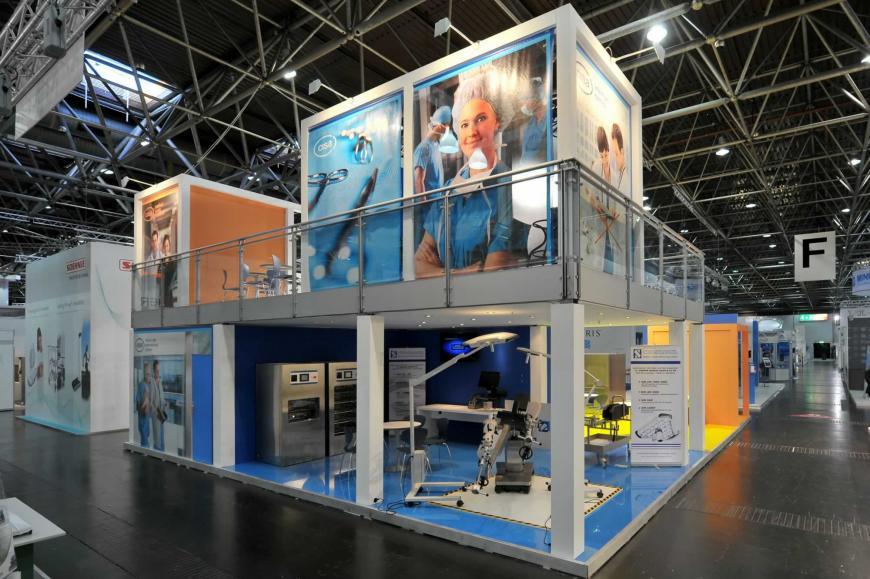 Exibition stand Dusseldorf Cisa