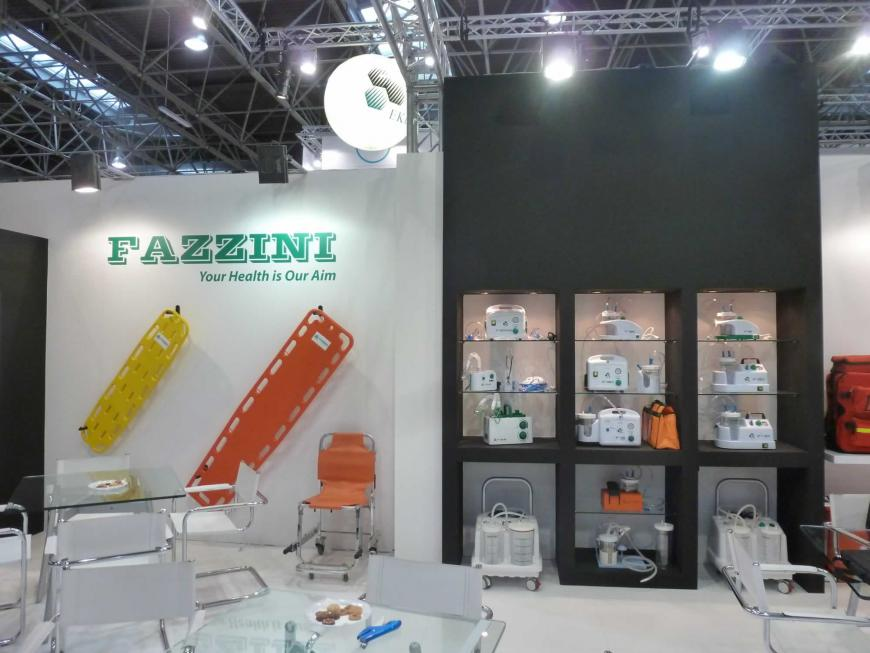 Exhibitions stand Dusseldorf Fazzini