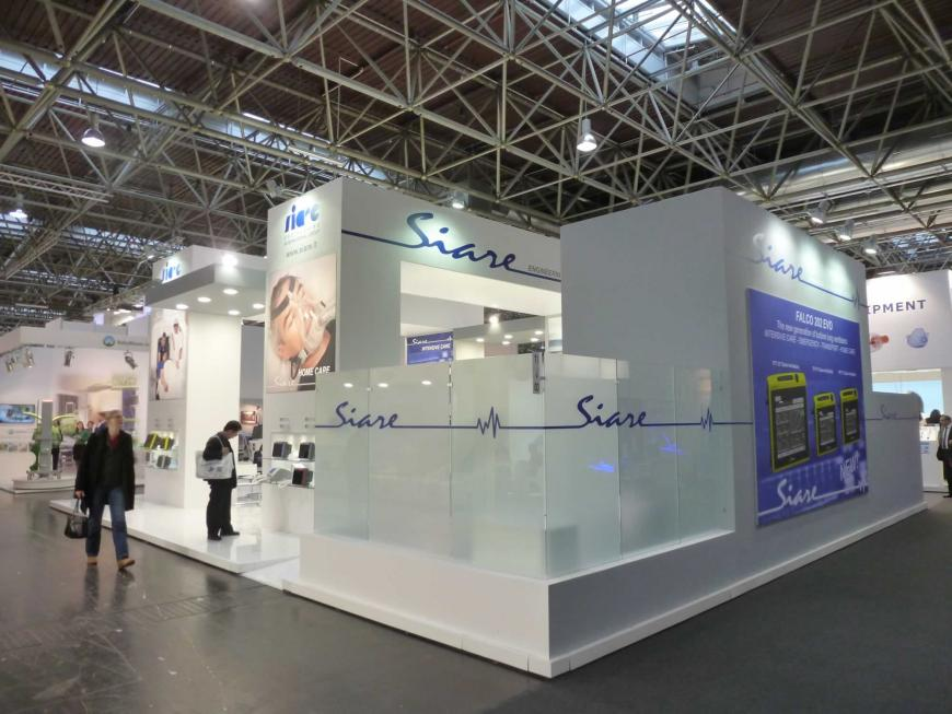 Exhibitions stand Dusseldorf siare1