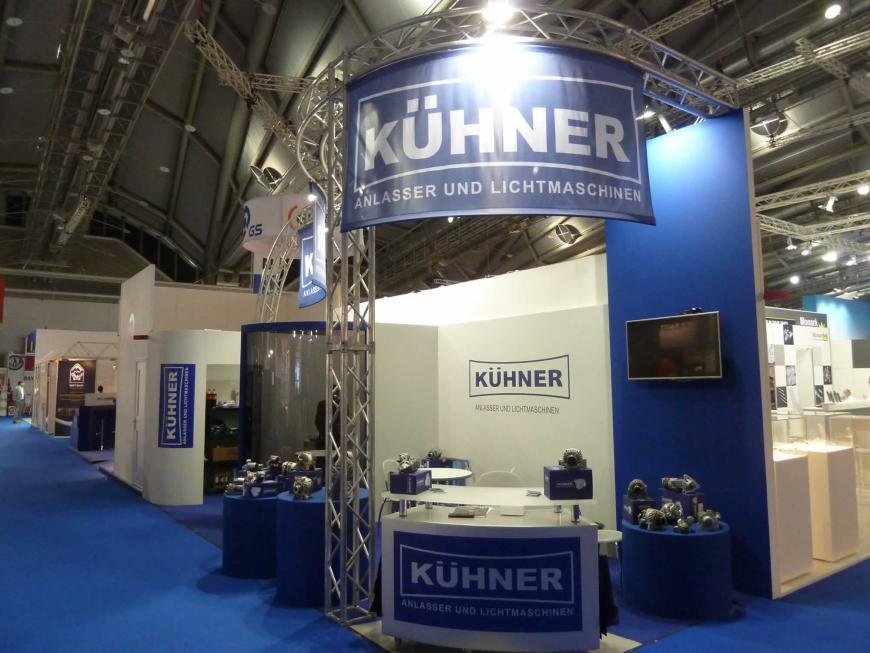 Exibition stand Frankfurt Kuhner