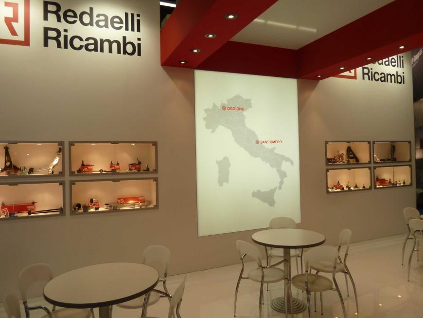 Exibition stand Frankfurt Redaelli Ricambi