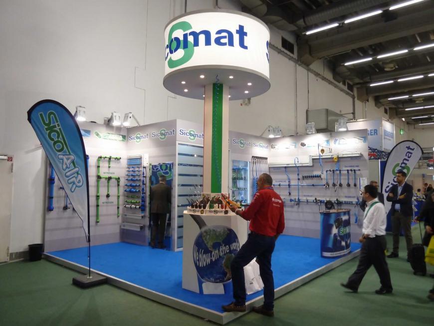 Exibition stand Frankfurt Sicomat