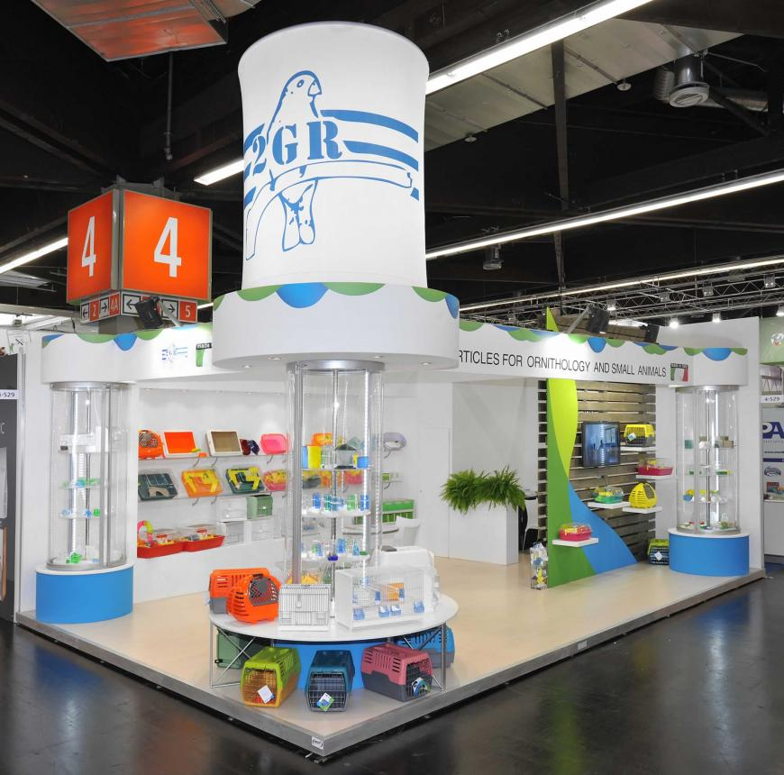 Exibition stand Nurnberg 2GR