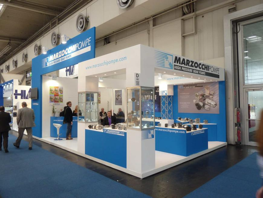 Hannovermesse Hannover Marzocchi Pompe