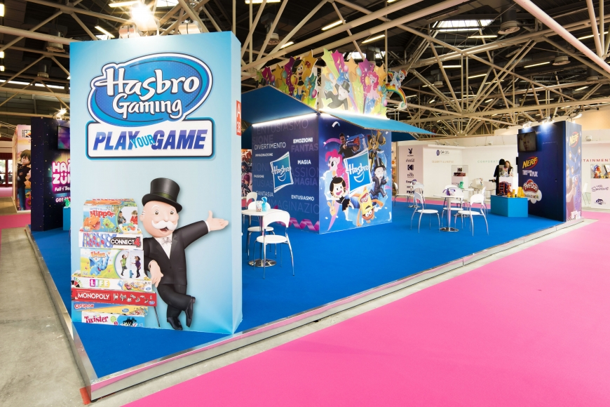 Fiera del LIBRO Hasbro 2017 Bologna