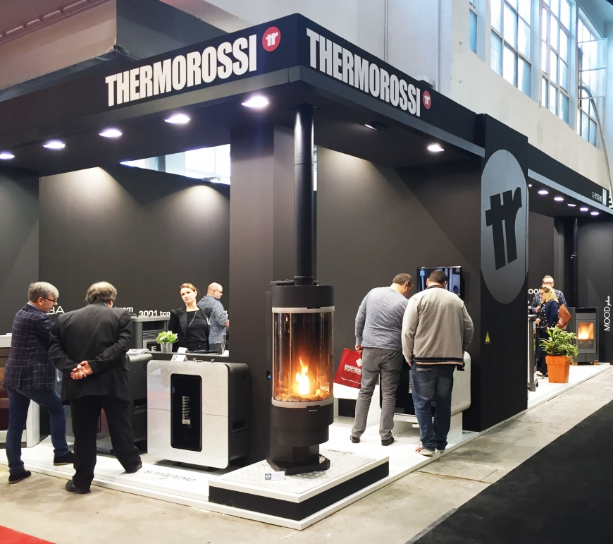 BATIBOUW 2017 Bruxelles Thermorossi