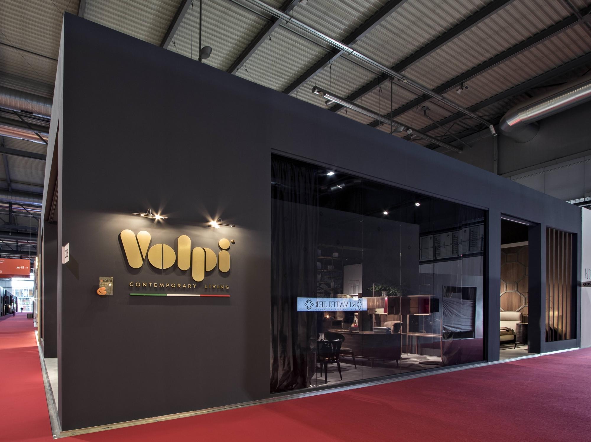 Allestimento stand fieristici salone del mobile volpi for Stand salone del mobile
